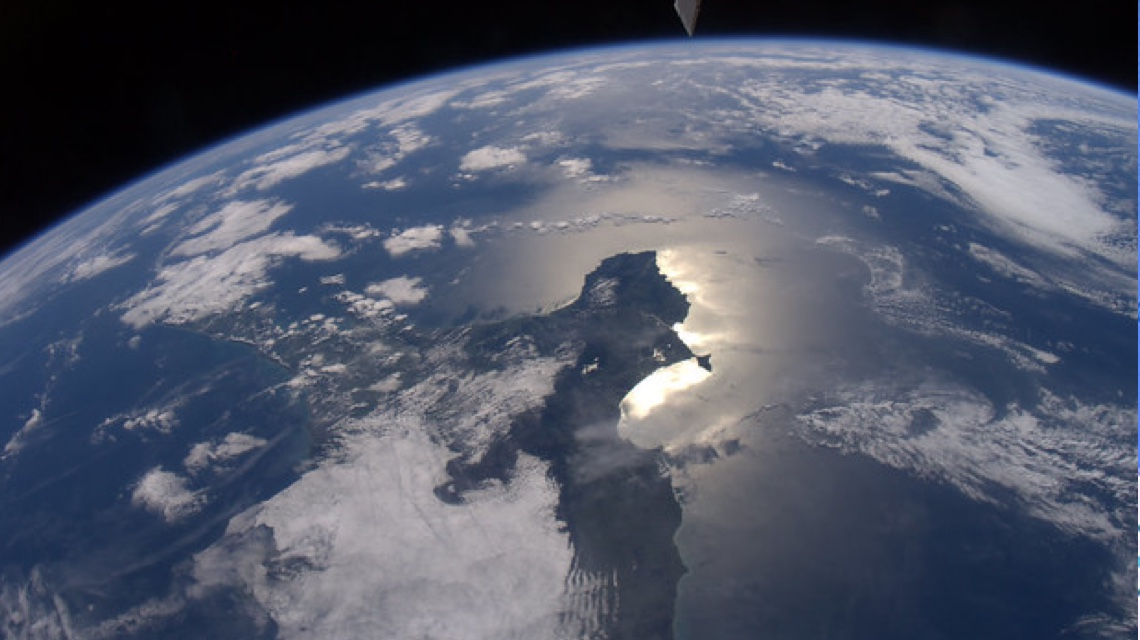 Image of New Zealand from Space