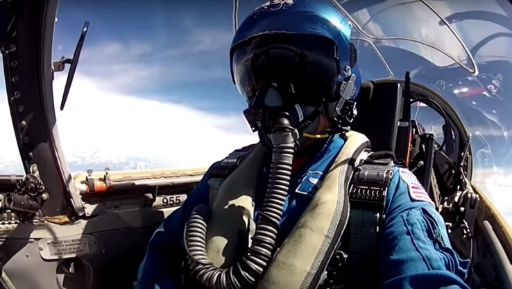 T-83 Training over the Gulf of Mexico with Ron Garan