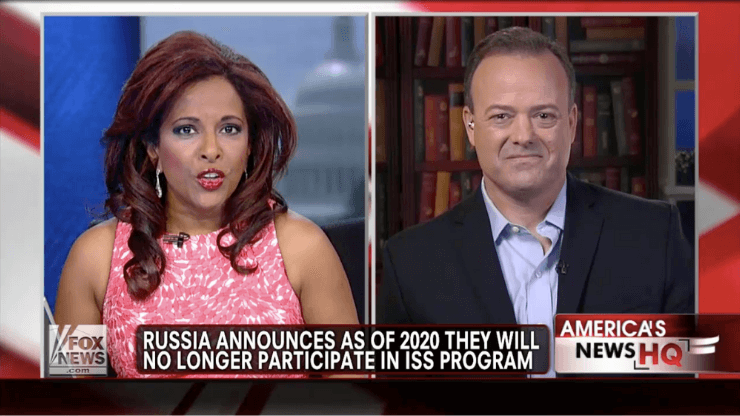 Fox news interview Russia leaving ISS