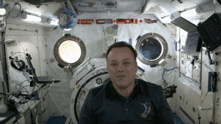 astronaut speaker ron garan talks about science in space
