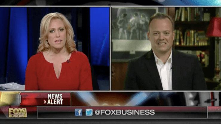 Fox business interview with astronaut