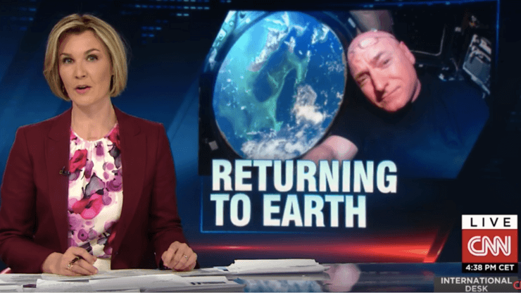 Returning to Earth CNN Interview