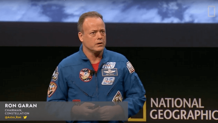 space speaker Ron garan explorers festival 2019